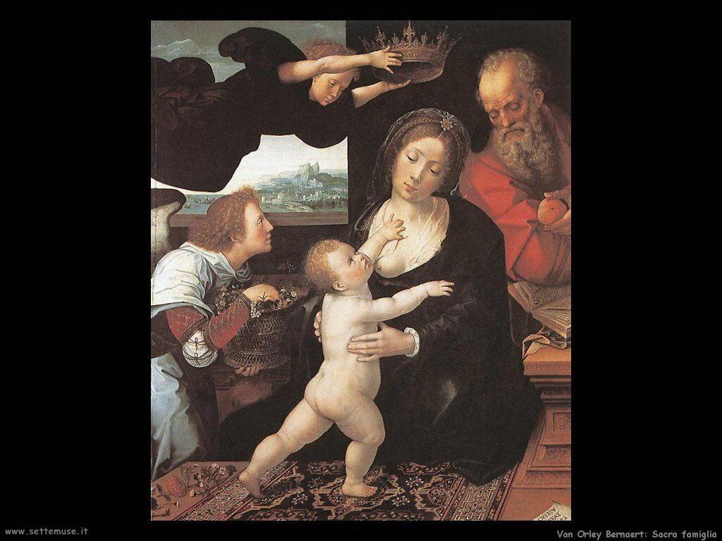 La Sacra Famiglia Van Orley Bernaert
