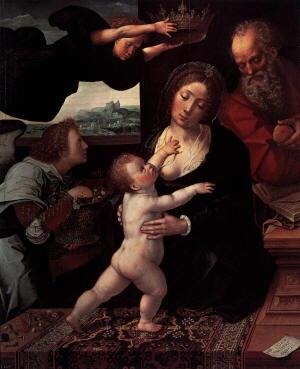 Pittura di Bernaert van Orley