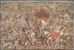 Opera di Bernaert van Orley (Arazzo: Battaglia di Pavia)