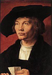 Autoritratto di Bernaert van Orley (ritratto di A. Durer)