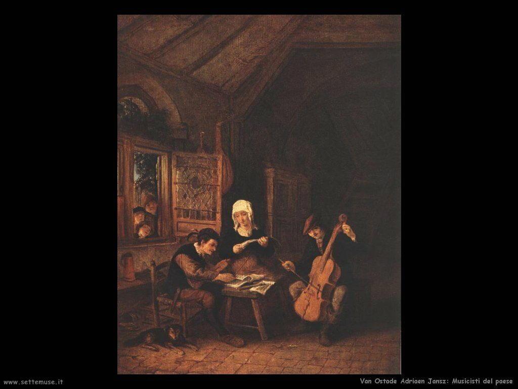 Musicisti di paese Van Ostade Adriaen Jansz