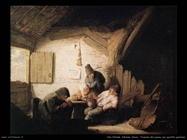 Taverna del villaggio con quattro figure Van Ostade Adriaen Jansz