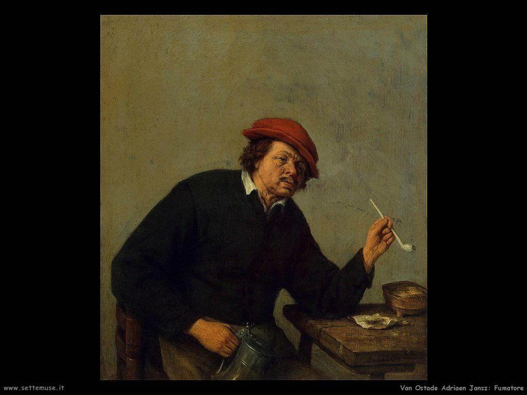 Fumatore Van Ostade Adriaen Jansz