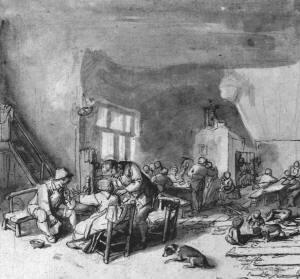 Illustrazione di Adriaen van Ostade