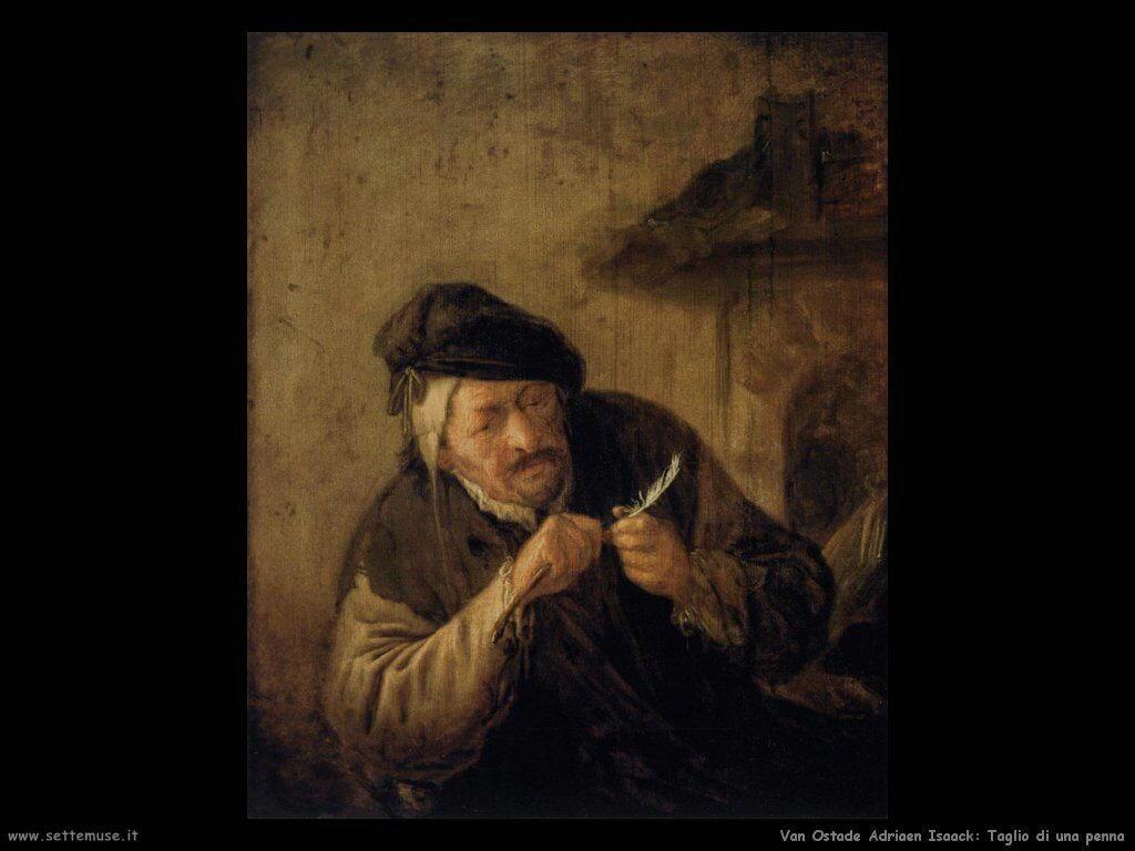 Temperare la penna Van Ostade Isaack