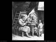 Preghiera prima del pasto Van Ostade Isaack
