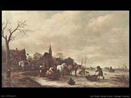 Paesaggio invernale Van Ostade Isaack
