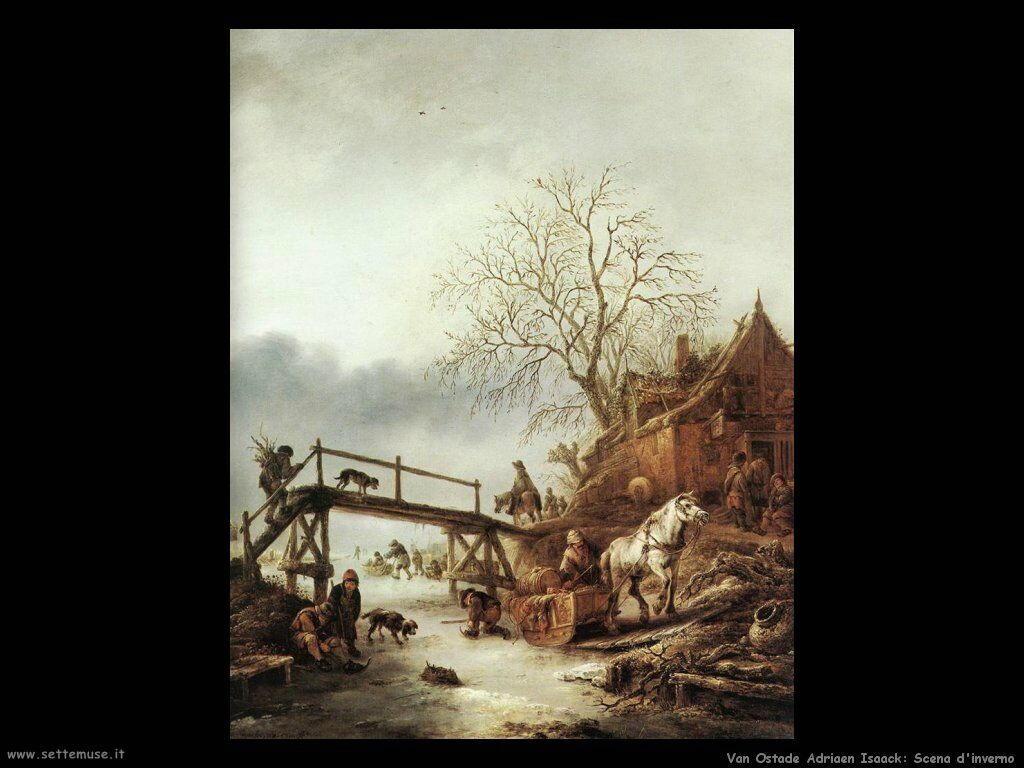 Una scena invernale Van Ostade Isaack