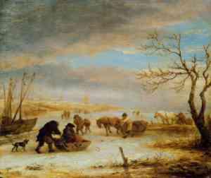 Dipinto di Isaack van Ostade