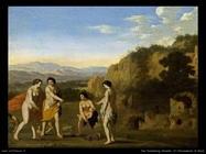 Il ritrovamento di Mosè Van Poelenburgh Cornelis