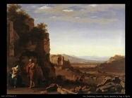 Riposo durante la fuga in Egitto Van Poelenburgh Cornelis