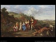 I figli del principe Frederick V Van Poelenburgh Cornelis