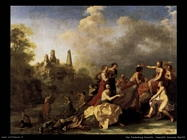 Amarillis vende i mirtilli Van Poelenburgh Cornelis