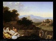Paesaggio con Ninfe Van Poelenburgh Cornelis