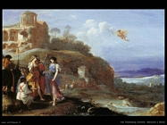 Mercurio ed Herse Van Poelenburgh Cornelis
