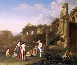 Dipinto di Cornelis van Poelenburgh