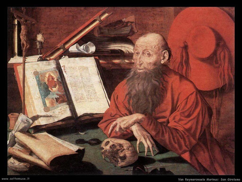 Van Reymerswaele, Marinus San Girolamo
