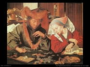 Van Reymerswaele, Marinus Il cambia valute con sua moglie