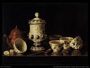 Van Roestraeten, Pieter Gerritsz Natura morta con teiera cinese