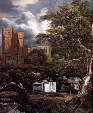 Pittura di Van Ruysdael Jacob Isaackszon