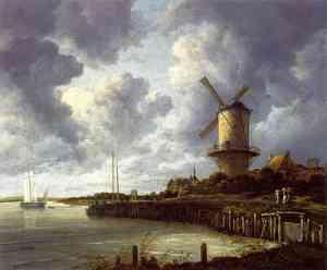 Dipinto di Van Ruysdael Jacob Isaackszon