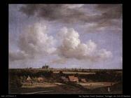 Panorama con vista su Haarlem Van Ruysdael Jacob Isaackszon