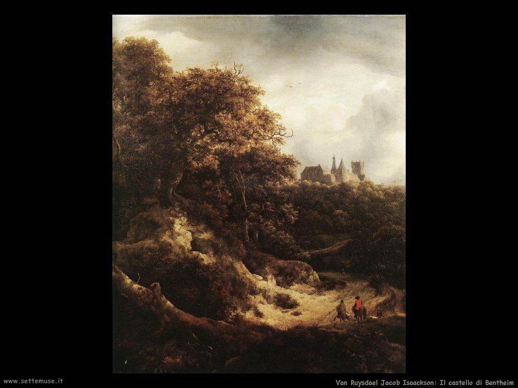 Il Castello di Bentheim Van Ruysdael Jacob Isaackszon
