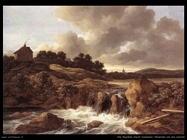 Paesaggio con cascata Van Ruysdael Jacob Isaackszon