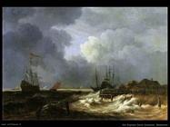 Il frangiflutti Van Ruysdael Jacob Isaackszon
