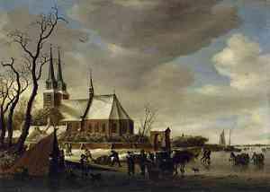 Dipinto di Salomon van Ruysdael