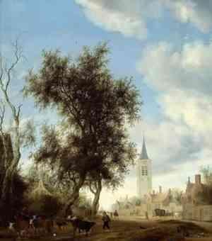 Pittura di Salomon van Ruysdael