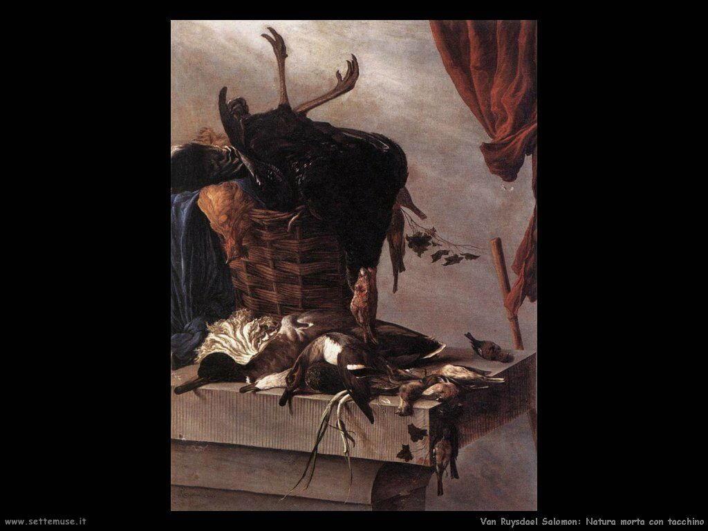 Natura Morta con tacchino Van Ruysdael Salomon