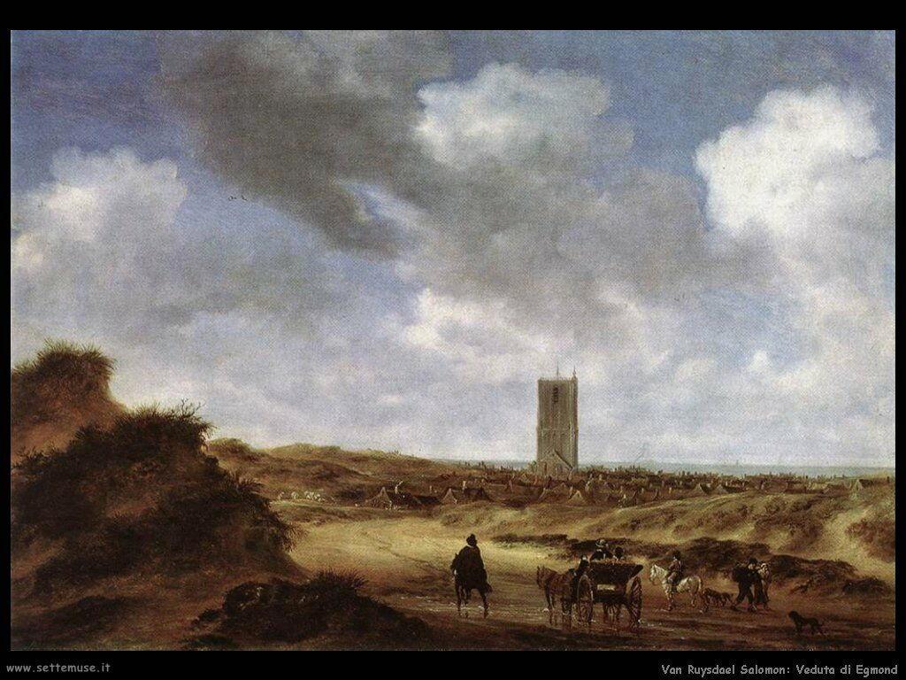 Vista di Egmond Van Ruysdael Salomon