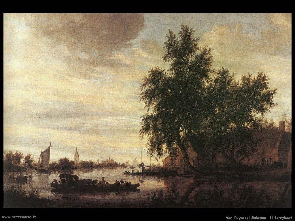 Il traghetto Van Ruysdael Salomon