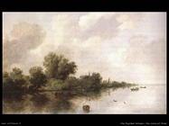 Scena sul fiume Van Ruysdael Salomon