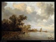 Paesaggio fluviale Van Ruysdael Salomon