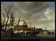 Paesaggio invernale Van Ruysdael Salomon