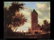 Torre sulla strada Van Ruysdael Salomon