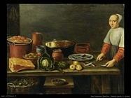 Van Schooten, Gerritsz Natura morta in cucina