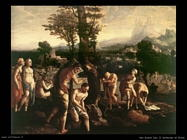 Van Scorel, Jan Battesimo di Cristo
