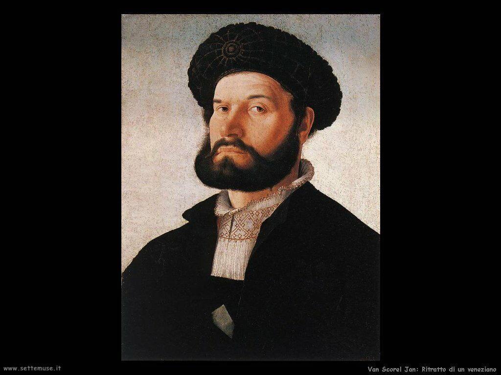 Van Scorel, Jan Ritratto di un veneziano