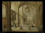 Van Steenwyck, Hendrick The Younger Interno di chiesa gotica