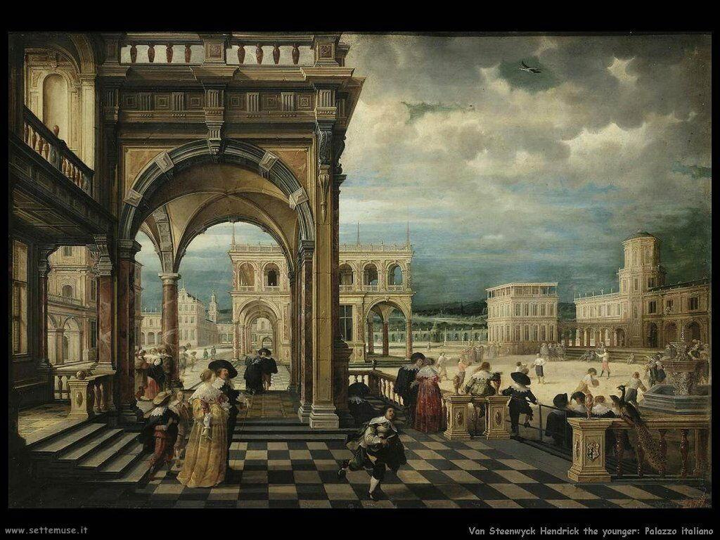 Van Steenwyck, Hendrick The Younger Palazzo italiano