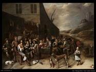 Van Tilborgh, Gillis Esterno di una taverna