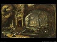 Van Troyen, Rombout Caverna con soldati