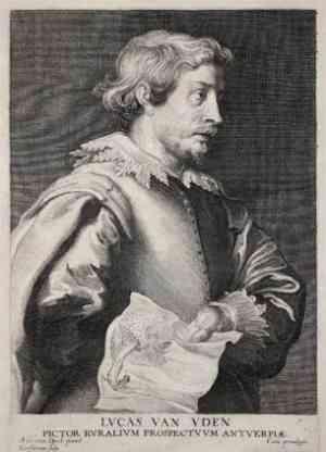 Ritratto di Lucas van Uden
