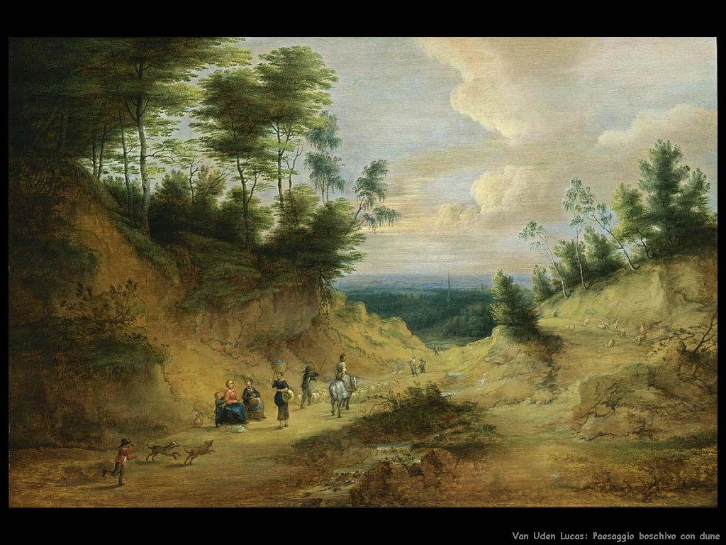 Paesaggio di dune boscose Van Uden Lucas