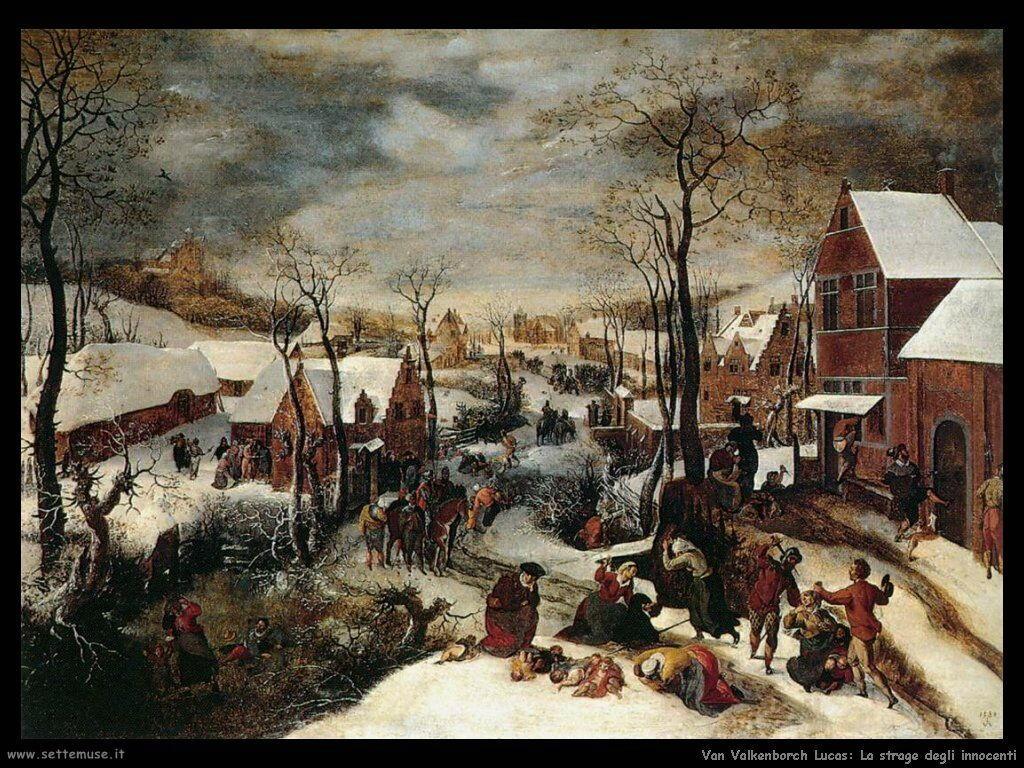 Van Valkenborch, Lucas La strage degli innocenti