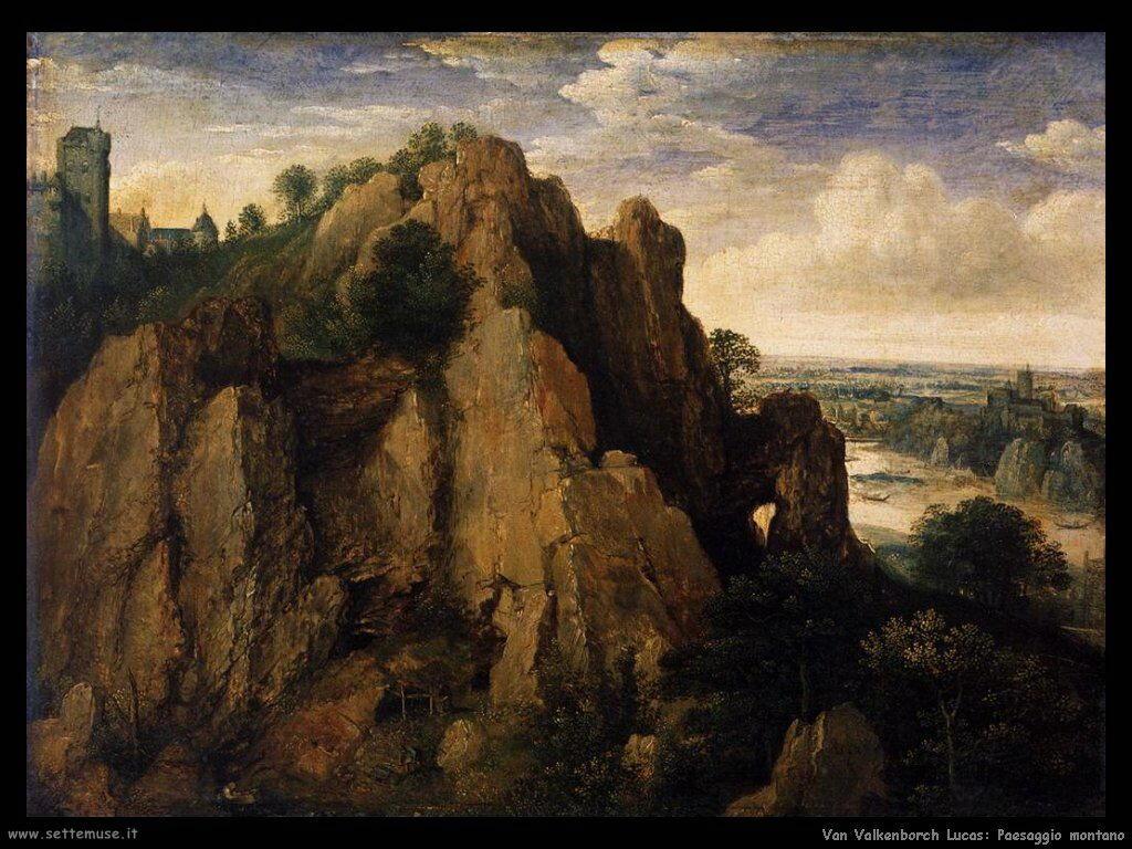 Van Valkenborch, Lucas Paesaggio montagnoso