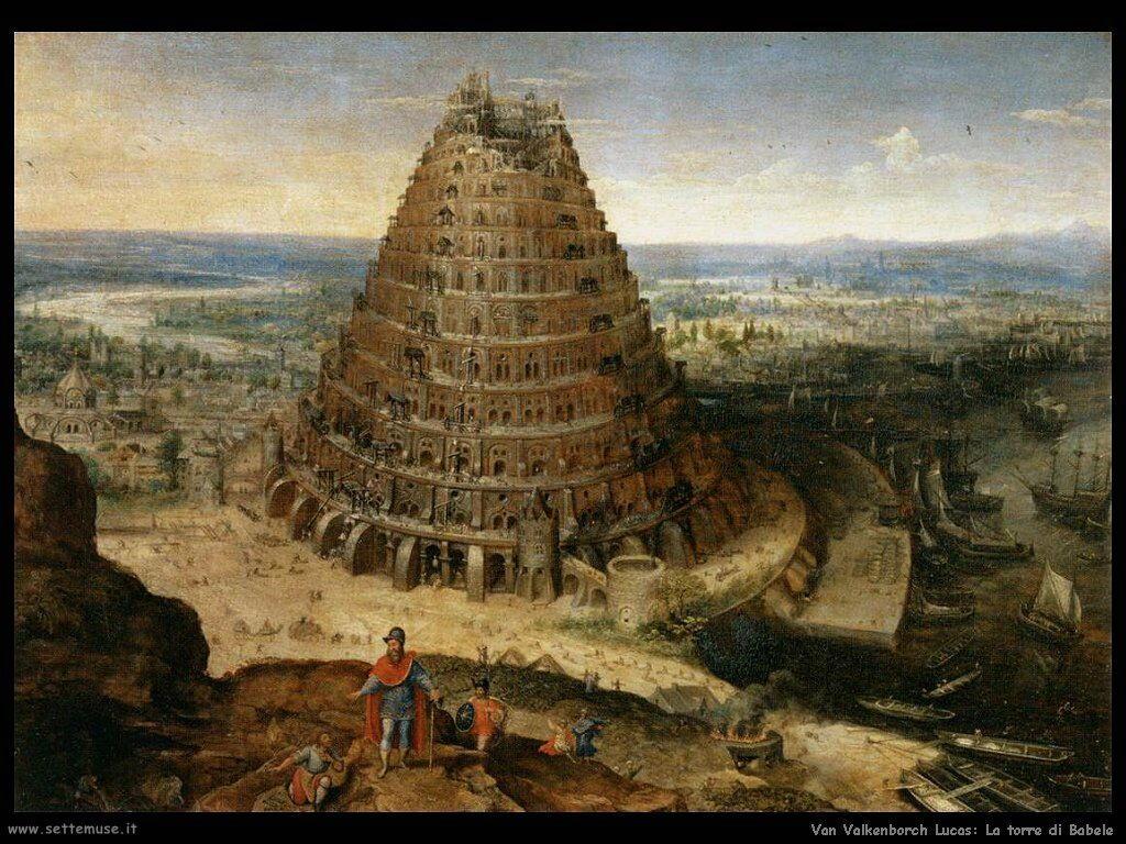 Van Valkenborch, Lucas La torre di Babele
